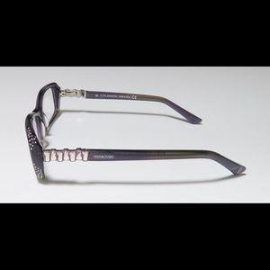 Women's Swarovski Eyeglasses in Purple